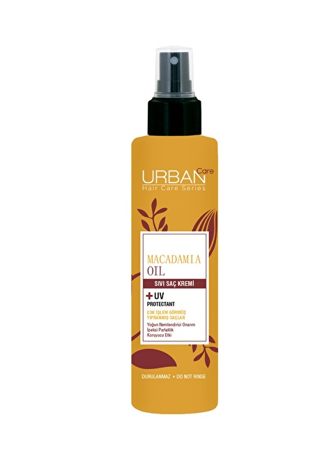 Urban Care Macadamia Oil Fusion Sıvı Saç Bakım Kremi 200 Ml Renksiz
